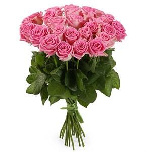 Букет 25 роз Аква